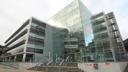 Endeavour House, Suffolk County Council HQ, in Ipswich. Picture: SARAH LUCY BROWN