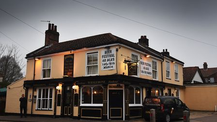 The Whalebone pub 22nd beer festival. Picture: ANTONY KELLY