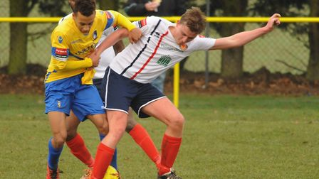 Nathan Stewart scored another vital equaliser for Norwich United. Picture: DENISE BRADLEY