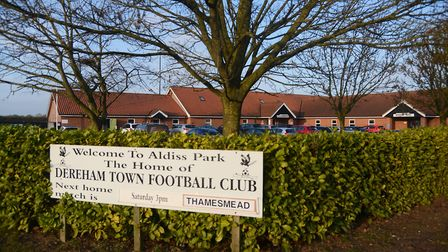 Derfeham were left without a game, despite the Aldiss Park pitch passing an inspection. Picture: Ian