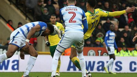 Josh Murphy and, in the background, Onel Hernandez are showing signs they can spearhead Norwich City
