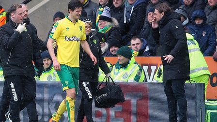 Timm Klose laid it on the line for Norwich City and his head coach Daniel Farke, during their Carrow