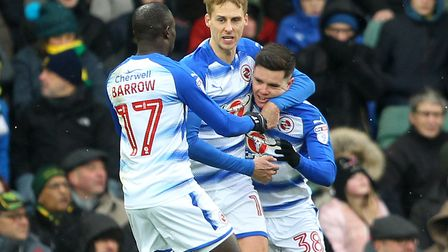 First goalscorer Liam Kelly (right) was an example of both Reading's good points and why all is curr