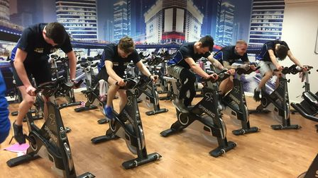 Stars riders are put through their paces. Picture: King's Lynn Stars