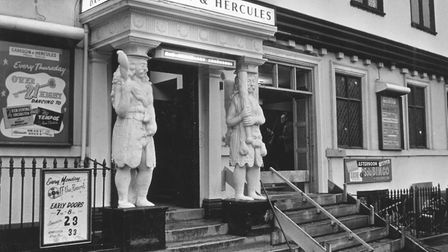 The Samson and Hercules ballroom. in Norwich. Photo: Archant Library