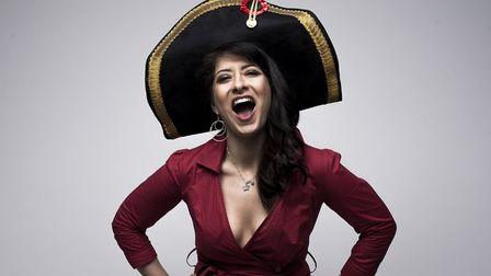 Shappi Khorsandi is performing Mistress and Misfit at Norwich Playhouse on March 8 and 9.Photo: Matt