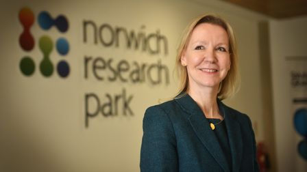 Sally-Ann Forsyth at Norwich Research Park.Picture: ANTONY KELLY
