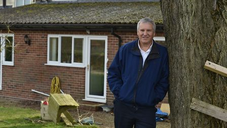 Mr Keats has battled the bank for years over his business and mortgage. Photo: Archant