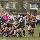 Norwich on the front foot during their big win at Romford & Gidea Park. Picture: Andy Micklethwaite