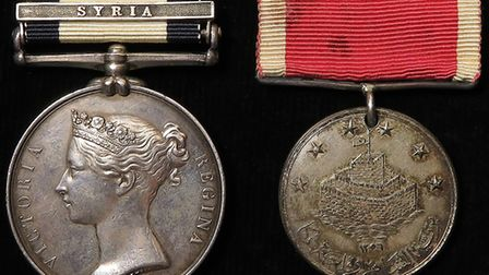 Lot 727 features medals belonging to Commander Richard Williams, a British naval officer involved in
