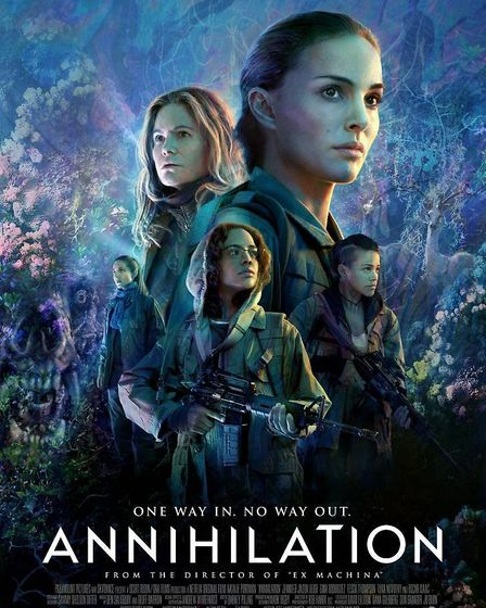 Annihilation is not being released in cinemas in favour of a release on Netflix. Photo: Netflix