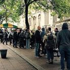The People's Picnic serve the homeless twice a week from the Haymarket. Photo: People's Picnic