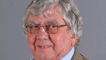 Cliff Jordan has been re-elected as Leader of the Conservative Group on Norfolk County Council. Pict