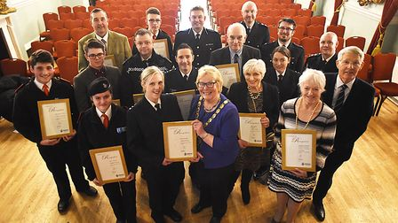 A Citizens in Policing recognition event was held at the Town Hall in King's Lynn, to thank all volu