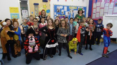 To celebrate World Book Day II, all the children at Hempnall Primary School brought in their favouri