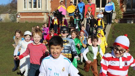 The children at Langley Preparatory School at Taverham Hall enjoyed an assembly special book-related