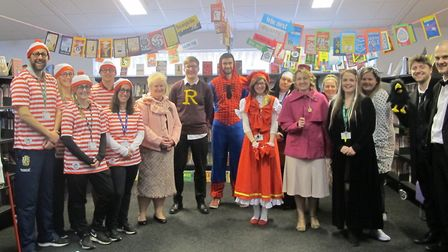 World Book Day at Northgate High School which included a 'Bake Expectations' bake sale and activitie