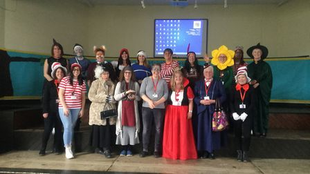 Due to the snow Valley Primary had to re-schedule world book day. All the staff and children made an