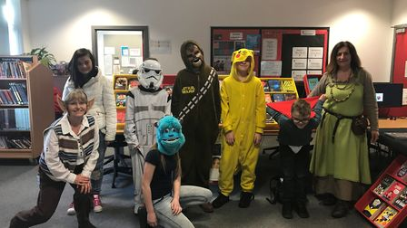 All manner of wacky costumes were worn by pupils and staff at Ormiston Venture Academy for World Boo