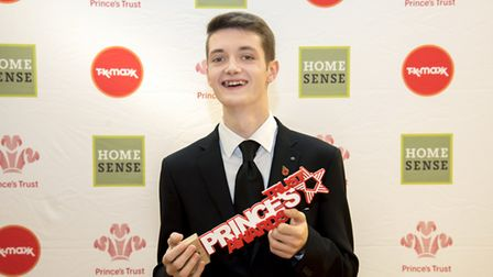 Thanks to the Prince's Trust - and through his own determination - Billy Harper, of Bunwell, near At