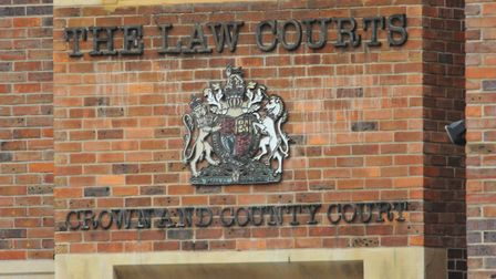 Norwich Crown Court sign. Picture: DENISE BRADLEY