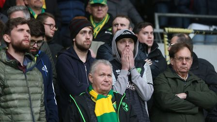The traveling Norwich City support probably feels like it's seen everything - but there is always ne