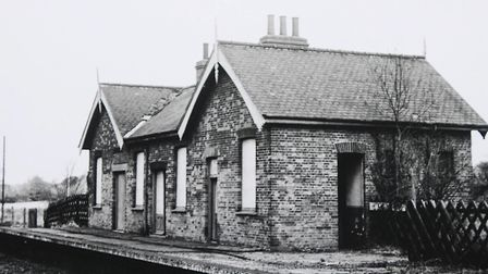Whitwell Station in the early 1980's. PHOTO: IAN BURT