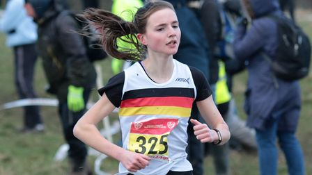 Abigall Durand Inter Girl 7th. Picture: Tony Payne