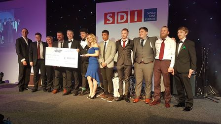 NCHC IT service desk recognised with global award. Photo: NCHC