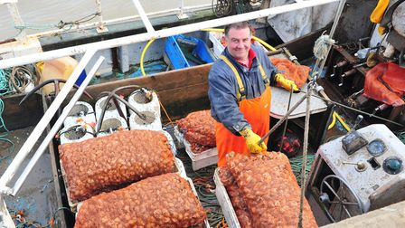 Fisherman Paul Lines, chairman of the Lowestoft Fish Market Alliance. Picture: Nick Butcher