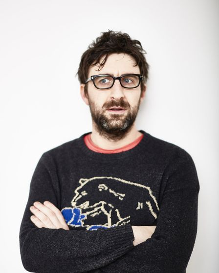 Comedian Mark Watson who is performing at Norwich Playhouse in 2018. Picture: COURTESY OF NORWICH PL