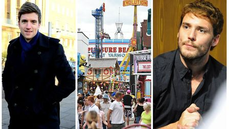 A tweet by Greg James about Great Yarmouth has divided opinion on Twitter. (L-R) Greg James (Photo: