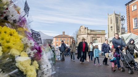 Gilly Foortse has announced her vision for Fakenham. Fakenham market day and town centre. Picture: M