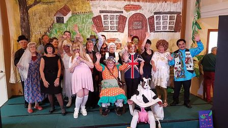 Slow Theatre Company worked with Wymondham Dementia Support Group to put on Jack and the Beanstalk.