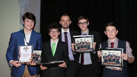 The Alderman Peel High Schools annual sports awards evening saw a large number of students celebrate