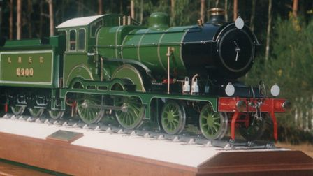 The model Claud Hamilton, made by Albert 'Sonny' Knights.