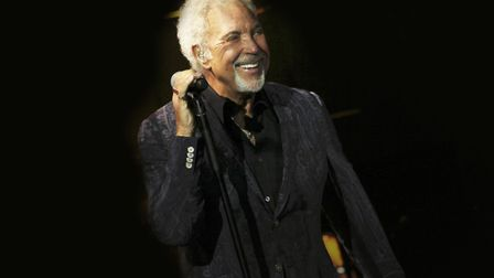 Sir Tom Jones who will be performing at Euston Hall, Thetford, on July 6. Photo: Submitted