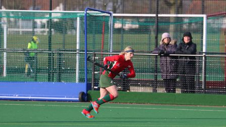 Hannah Hardy was player-of-the-match as Norwich Dragons II drew 2-2 with Ipswich & East Suffolk in a