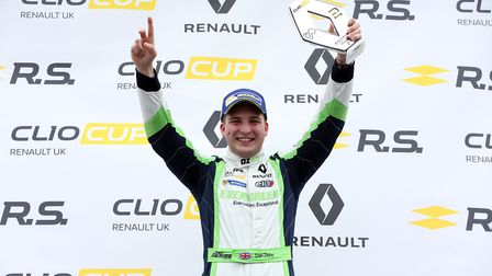 Dan Zelos finished last season off with two podium visits at Brands Hatch and is aiming to repeat th