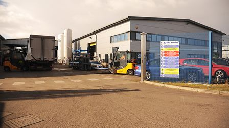 The Optima Stainless site in King's Lynn. Picture: Ian Burt