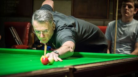 West Acre's Phillip Welham narrowly missed out on another National Billiards title. Picture: Philip