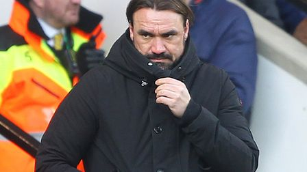 Daniel Farke is preparing City for tonight's clash with Forest. Picture: Paul Chesterton/Focus Imag