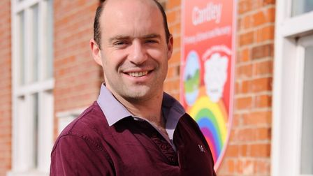 Head of Cantley Primary School and Nursery, Chris Aitken. Picture: DENISE BRADLEY
