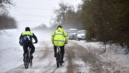 A number of schools have announced they will remain closed for a third day running due to unsafe tra