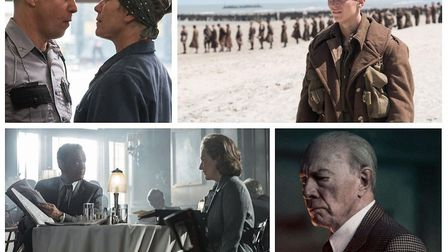 Oscar nominees Frances McDormand in Three Billboards Outside Ebbing, Missouri, Dunkirk, The Post and