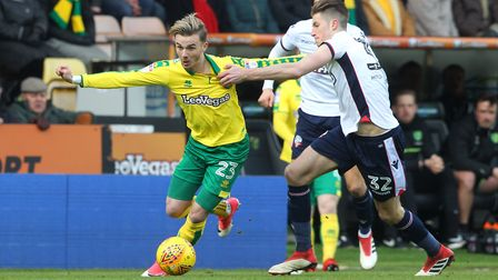 James Maddison is the one Norwich midfielder who has not found scoring an issue. Picture: Paul Chest