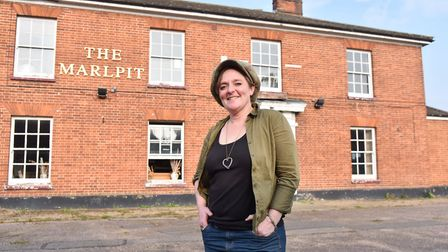 Cecile Bidet is hoping to reopen The Marlpit pub. Pic: Sonya Duncan.