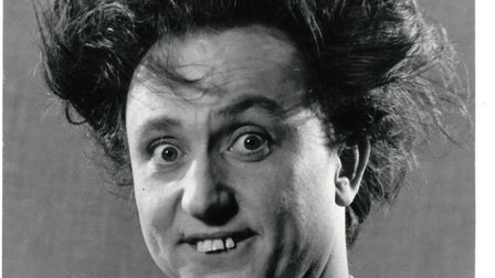 Comedy entertainer Sir Ken Dodd. Picture: ABC TV