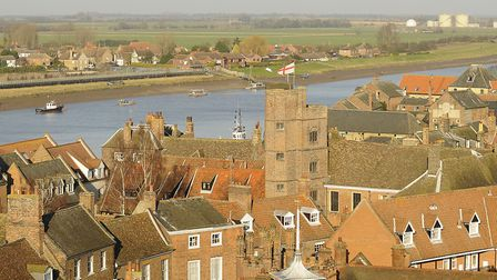 A project has been launched to uncover the history of King's Lynn during the First English Civil War