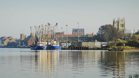 The Port of King's Lynn at high tide. Picture: Ian Burt